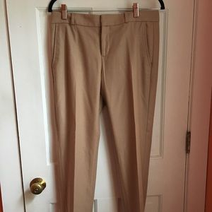 Banana Republic Ryan Fit Wool Blend Lined Pants